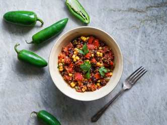 Recipe: Spicy Vegetarian Crock Pot Chili