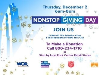 What is Nonstop Giving?