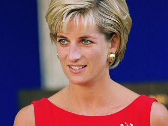 Kate Visits Diana's Grave Ahead of Wedding