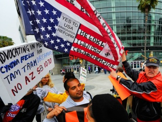 Poll: On Immigration, Racial Divide Runs Deep