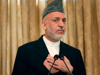 Karzai: U.S. Talking with Taliban