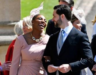 Serena Williams' Royal Wedding Photo Diary