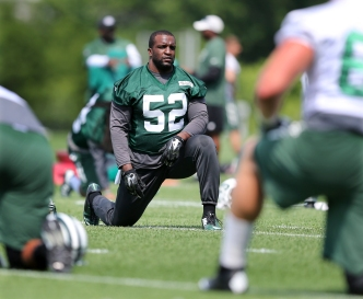 Jets' Harris Questionable for Opener, Jenkins Doubtful