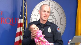 Cop Adopts Baby Born to Drug Addicted Mother