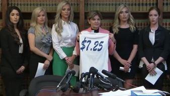 Ex-Cheerleaders Sue Texans, Allege Intimidation, Low Pay
