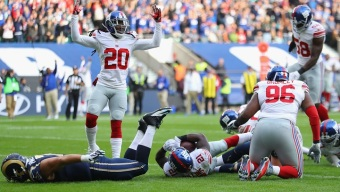 Landon Collins the Hero as Giants Beat Rams in London