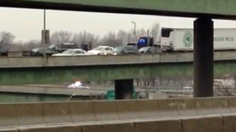 Icy Rain Causes Hundreds of Accidents in Tri-State