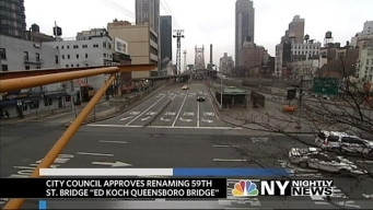 Queensboro Bridge Renamed for Ed Koch