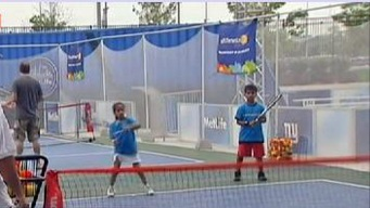 Tennis for Kids at Health Expo