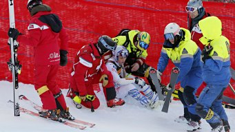 'I'm Too Old for This': Vonn Crashes in Her Penultimate Race