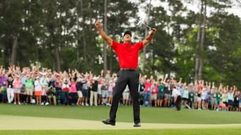 Timeline: Tiger Woods' Career