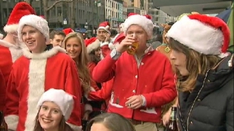 SantaCon Announces List of Bars, Moves to Manhattan