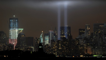 Tribute In Light Shines Bright on Sept. 11 Anniversary