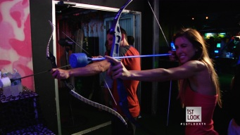 """A Real-Life """"Hunger Games"""" at Indoor Extreme Sports"""