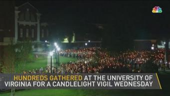 Candlelight Vigil for Peace Floods U.Va. Campus