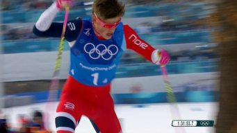 Norway Chases Down OAR to Strike Gold in Men's 4x10km Relay