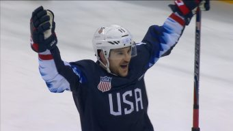 Garrett Roe Rips One Past Laco, Extends U.S. to Lead 4-1