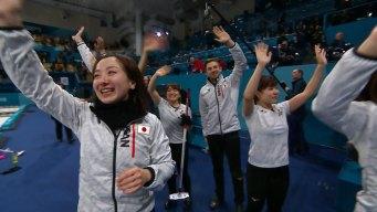 Japan's 'Sunshine Team' Wins Women's Curling Bronze Medal