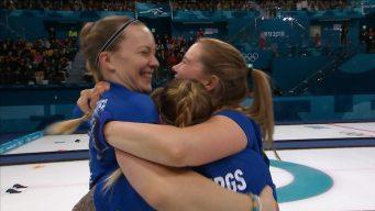 Sweden Defeats South Korea for Third Women's Curling Gold