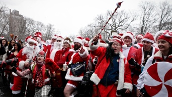 NYC SantaCon Bars Revealed
