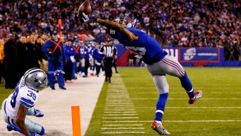 Beckham's One-Handed TD Catch Really the Greatest?