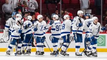 Lightning Dominate Canadiens 6-2