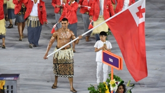 That Shirtless Tongan From Rio Has a Snowy New Olympic Dream
