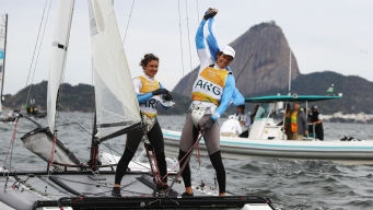 Argentine Cancer Survivor Wins Olympic Sailing Gold at 54