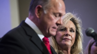 Wife of Ala. Senate Candidate Moore: 'He Will Not Step Down'