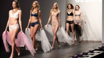 Models in Spanx Kick Off NY Fashion Week