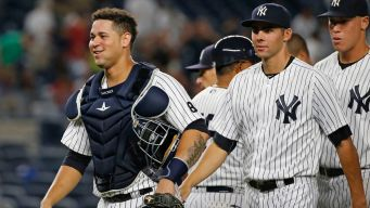 Sanchez Homers Again, Yankees Rout Orioles 14-4
