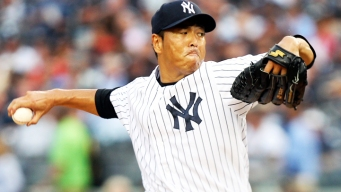 Kuroda Pitches 2-Hitter, Yankees Beat Rangers 3-0