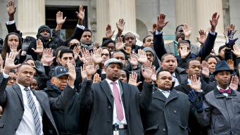 House Staffers Protest Garner, Ferguson Decisions