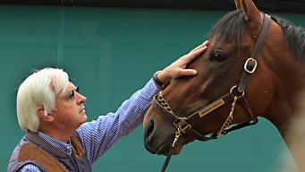 American Pharoah Gallops in Kentucky Ahead of Belmont