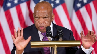 John Lewis Looks Back to Original March on Washington