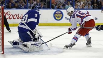Rangers Beat Lightning 7-3 in Game 6