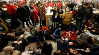 Eric Garner Protesters Storm Apple Store, Macy's
