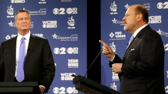 Lhota, de Blasio Get Testy in 2nd Mayoral Debate