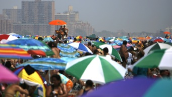 Sizzling Mon. May Break Record Highs; Schools Closing Early