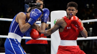 'I'm Hurt': Shakur Stevenson Sobs After Taking Silver