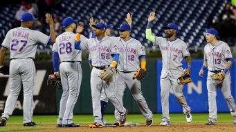 Mets Move Closer to Playoff Spot in 5-1 Win Over Phillies