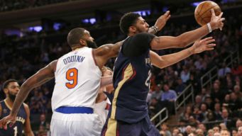 Knicks Fall to Pelicans 110-96