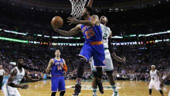 Rose Powers Slumping Knicks Past Celtics 117-106