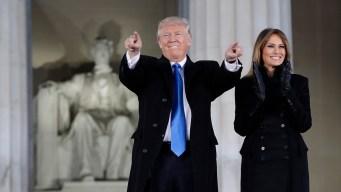 Trump at Inaugural Concert: 'I Will Work So Hard'
