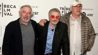 Burt Reynolds Makes Rare Public Appearance at Tribeca