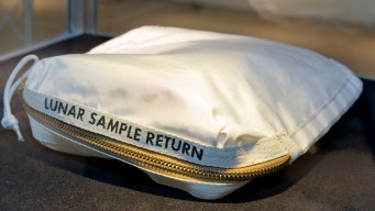 Neil Armstrong's Moon Dust Sold for $1.8 M at NYC Auction
