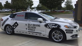 Domino's, Ford Team Up to Test Self-Driving Delivery
