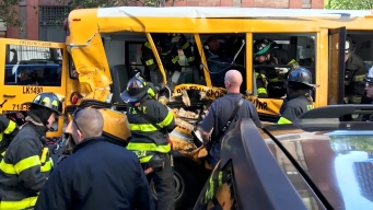 'Horror': 1 Student From Mangled Bus Hospitalized, 1 OK