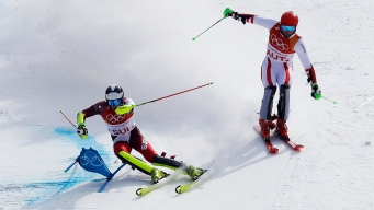 Switzerland Beats Austria in Olympic Debut of Team Event