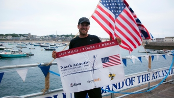 US Teacher Rows Solo Across Atlantic in Record Time